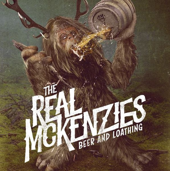 REAL MCKENZIES, beer & loathing (indie version) cover