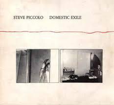 STEVE PICCOLO, domestic exile cover