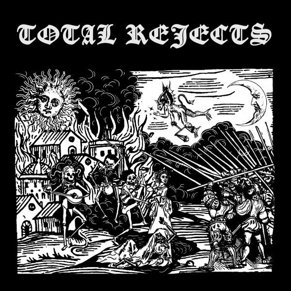 TOTAL REJECTS, s/t cover