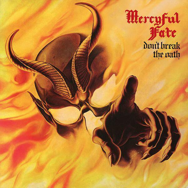 MERCYFUL FATE, don´t break the oath cover