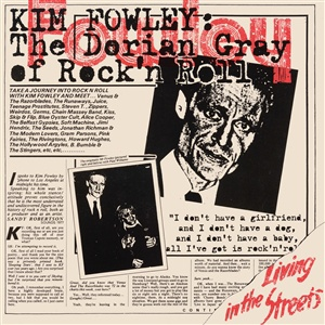 KIM FOWLEY, living in the streets cover