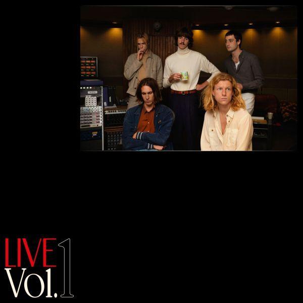 PARCELS, live vol. 1 cover