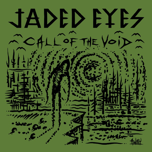 JADED EYES, call of the void cover