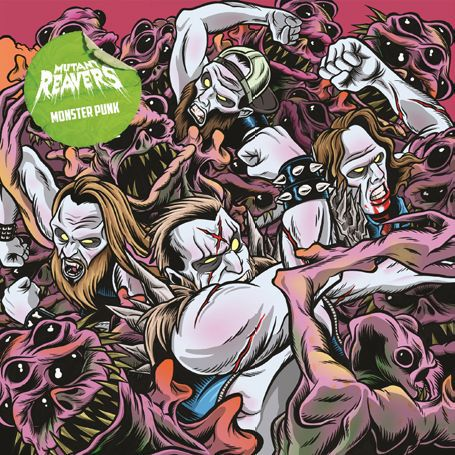 MUTANT REAVERS, monster punk cover