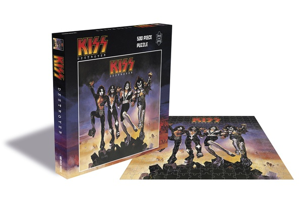 KISS, destroyer (500 piece jigsaw puzzle) cover