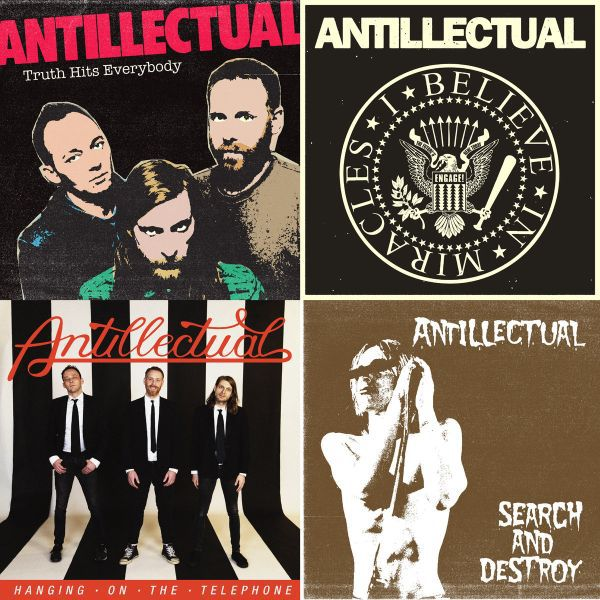 ANTILLECTUAL, the covers ep cover