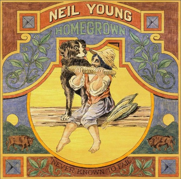 NEIL YOUNG, homegrown cover