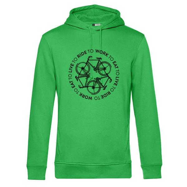 DIRK UHLENBROCK, live to ride (kapu), apple green cover