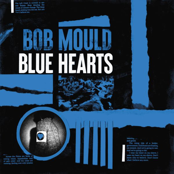 BOB MOULD, blue hearts cover