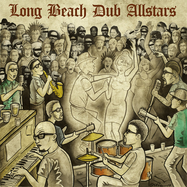 LONG BEACH DUB ALLSTARS, s/t cover