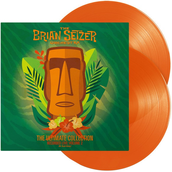 BRIAN SETZER ORCHESTRA, the ultimate collection vol. 2 cover