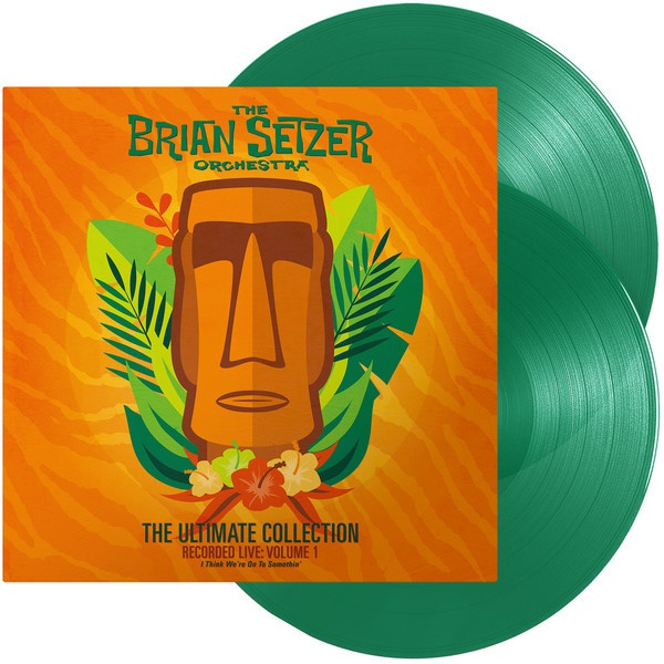 BRIAN SETZER ORCHESTRA, the ultimate collection vol.1 cover