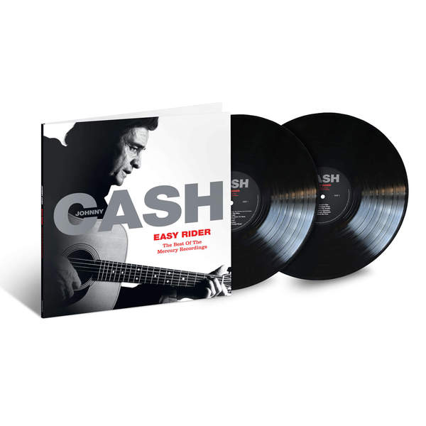 JOHNNY CASH, easy rider: the best of the mercury recordings cover