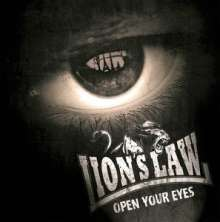 LION´S LAW, open your eyes cover