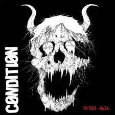 CONDITION, actual hell cover