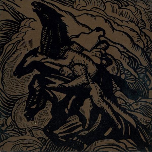 SUNN O))), flight of the behemoth (brown vinyl) cover
