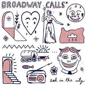 BROADWAY CALLS, sad in the city cover