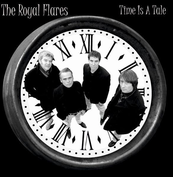 THE ROYAL FLARES, time is a tale cover