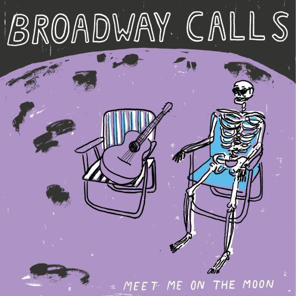 BROADWAY CALLS, meet me on the moon cover