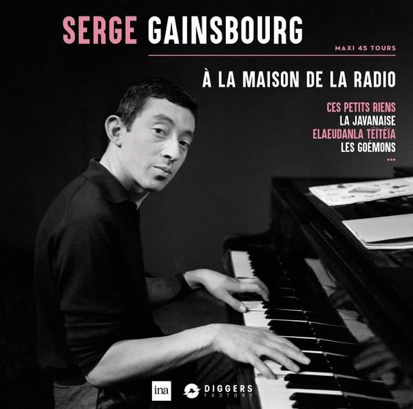 SERGE GAINSBOURG, a la maison de la radio cover
