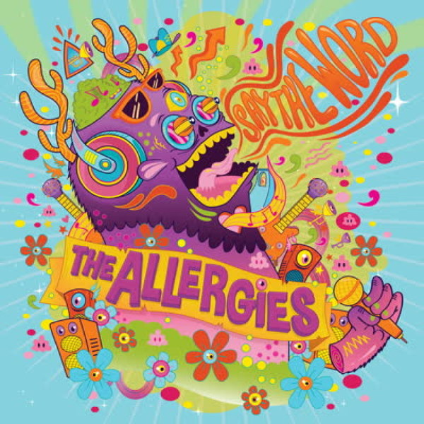 ALLERGIES, say the word cover