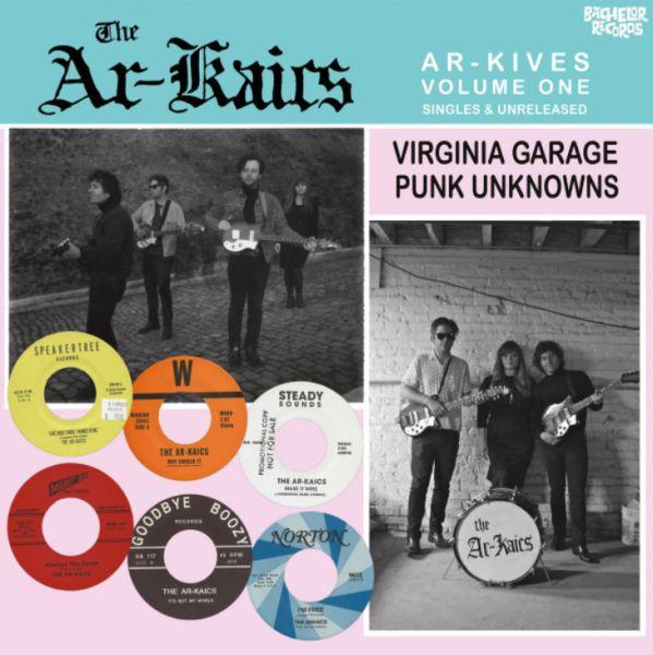 AR-KAICS, ar-kives: vol. 1 - singles & unreleased cover