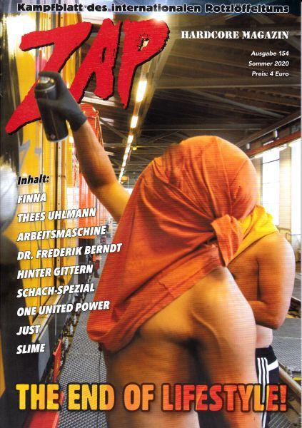 ZAP, # 154 cover