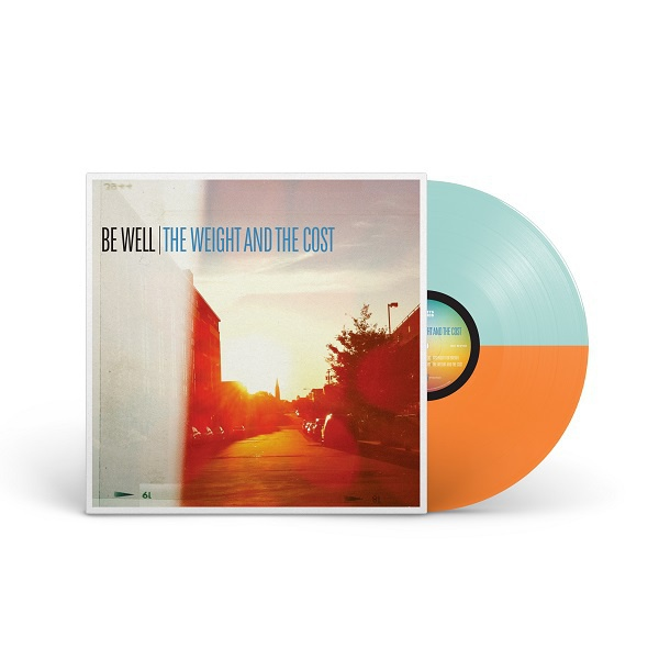 BE WELL, the weight and the cost (split baby blue / orange) cover