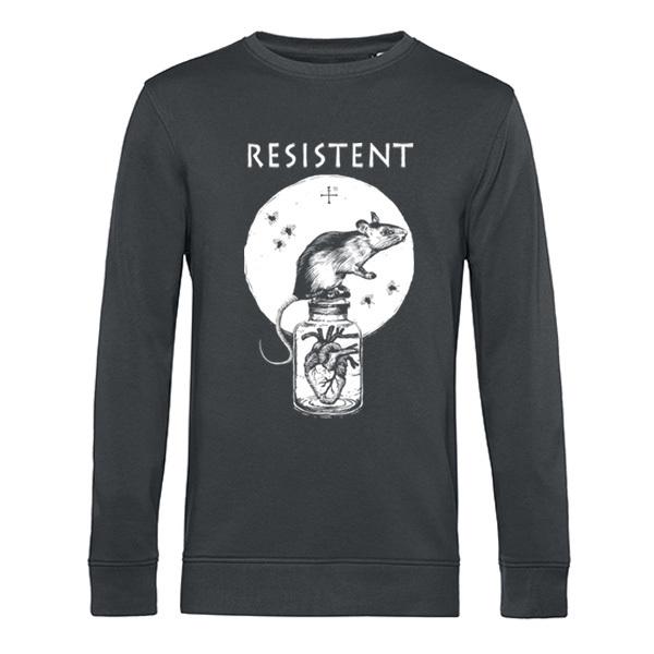 REMO POHL, resistent (sweater), asphalt cover
