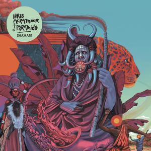 IDRIS ACKAMOOR & THE PYRAMIDS, shaman! cover