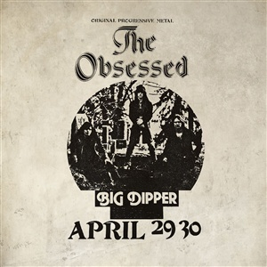 THE OBSESSED, live at big dipper (authorized bootleg) cover
