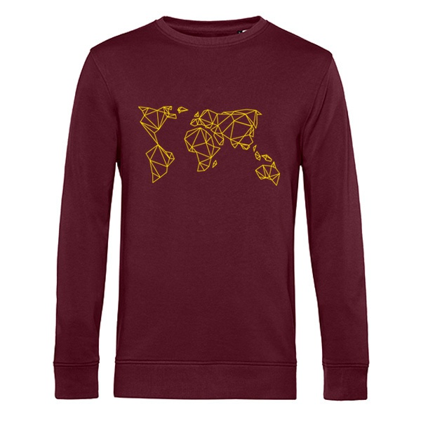 ORANGE BEAT, earth (sweater), burgundy cover