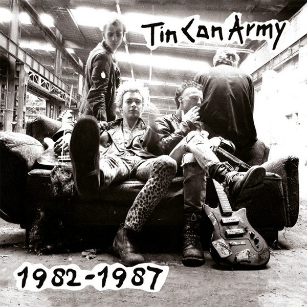 TIN CAN ARMY, 1982-1987 cover