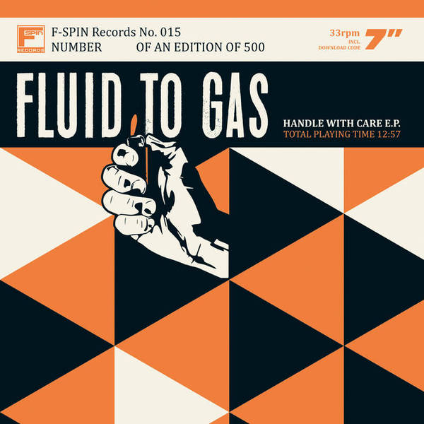 FLUID TO GAS, handle with care cover