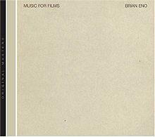 BRIAN ENO, discreet music cover