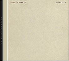BRIAN ENO, music for films cover