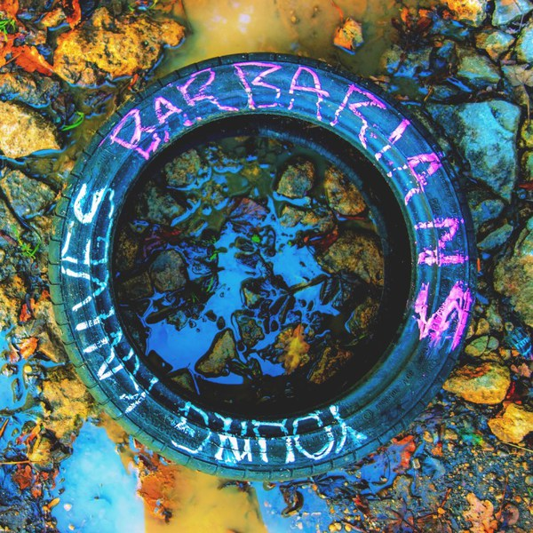 YOUNG KNIVES, barbarians cover