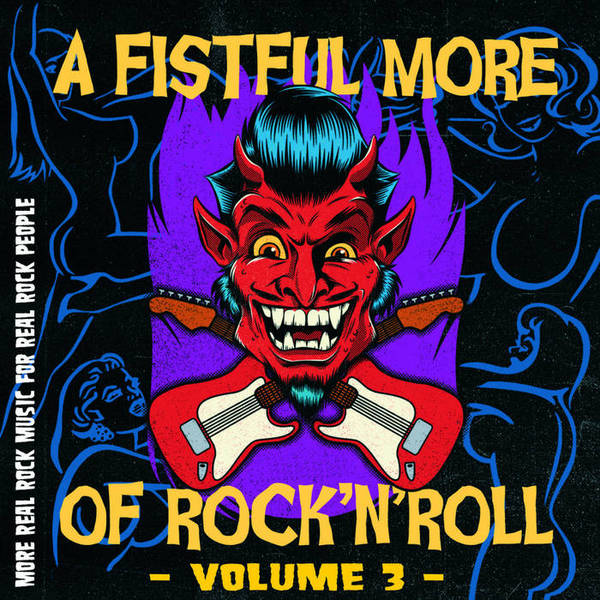 V/A, a fistful of more rock´n roll vol.3 cover