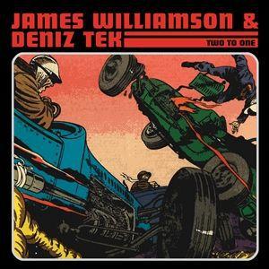 JAMES WILLIAMSON & DENIZ TEK, two to one cover