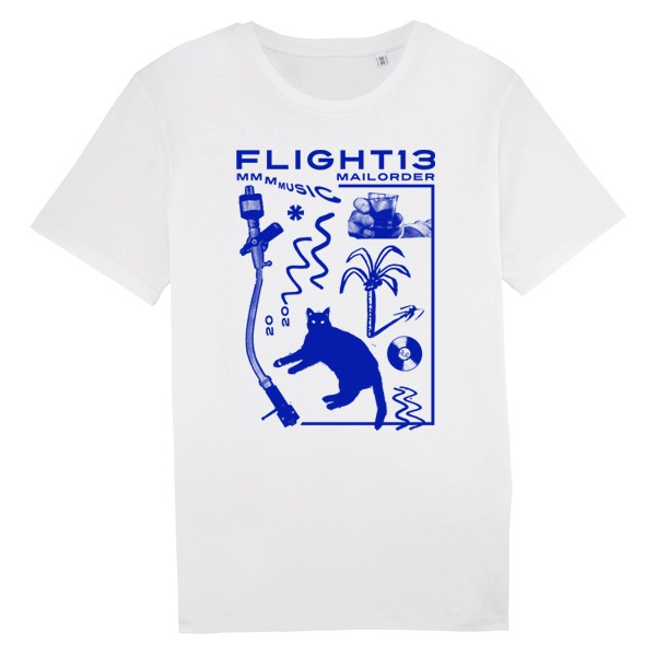 FLIGHT 13, künsi (boy), blue on white cover