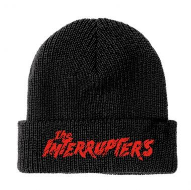 INTERRUPTERS, lopo red (Beanie) black cover