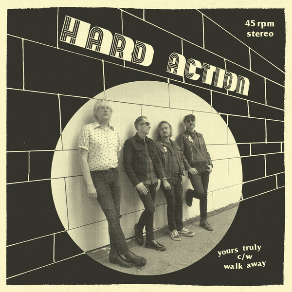 HARD ACTION, yours truly cover