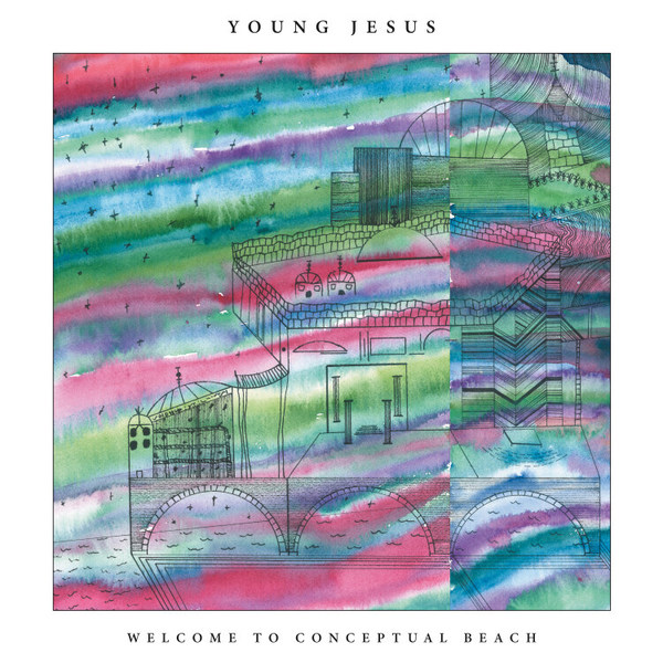 YOUNG JESUS, welcome to conceptual beach cover