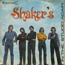 LOS SHAKERS, in the studio again cover