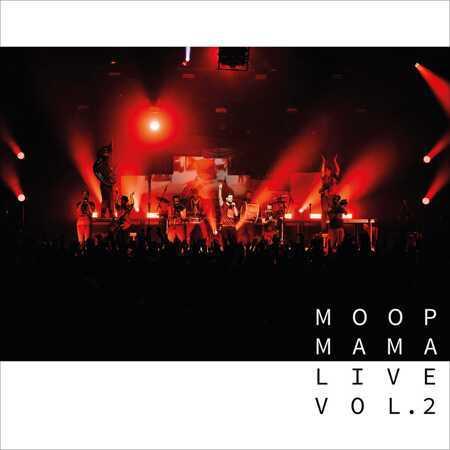 MOOP MAMA, live vol. 2 cover