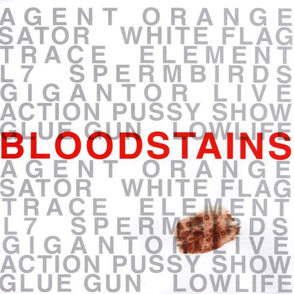 V/A, bloodstains cover