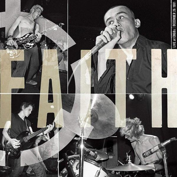 FAITH, live at cbgb´s cover