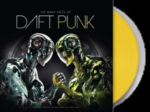 DAFT PUNK (V/A), the many faces of daft punk cover