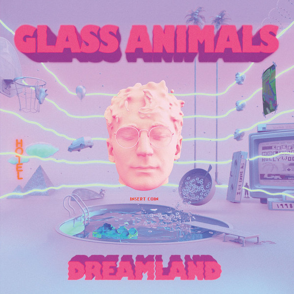 GLASS ANIMALS, dreamland cover