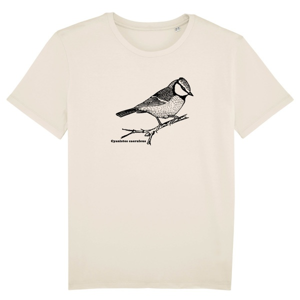 BIRDSHIRT, blaumeise (boy), nature cover
